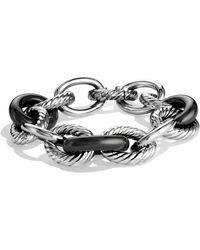 David Yurman - Oval Extra Large Link Bracelet - Lyst