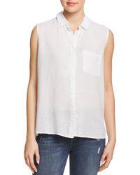 DL1961 - N7th & Kent Sleeveless Shirt - Lyst
