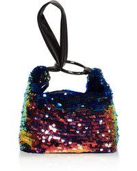 Nasty Gal | Inner Circle Sequin Mini Bag | Lyst