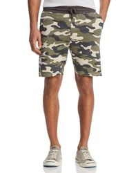 Sovereign Code - Somerset Camouflage-print Shorts - Lyst