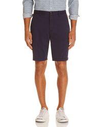 Michael Kors - Garment Dyed Stretch Cotton Shorts - Lyst
