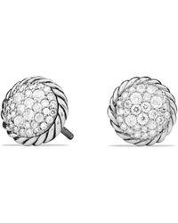 David Yurman - Châtelaine Pavé Earring With Diamonds - Lyst