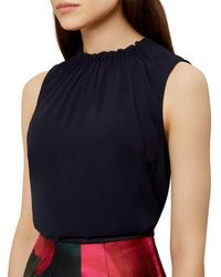 Hobbs - Faye Gathered Top - Lyst