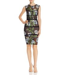 Bronx and Banco - Bridget Floral - Embroidered Dress - Lyst