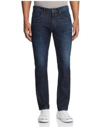 PAIGE   Federal Slim Fit Jeans In Barker   Lyst