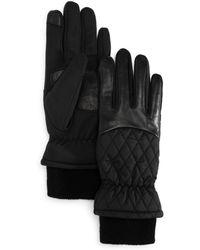 Echo - Warmest Sheepskin Superfit Tech Gloves - Lyst