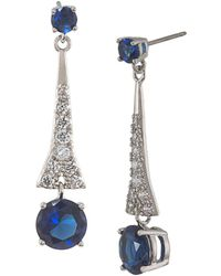 Carolee - Linear Drop Earrings - Lyst