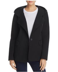 Donna Karan - Hooded Jacket - Lyst