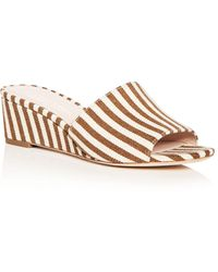 Loeffler Randall - Women's Tilly Demi Wedge Slide Sandals - Lyst