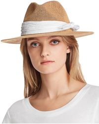 89aa77ba August Hat Company - Eyelet - Trim Packable Hat - Lyst