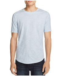 W.r.k. - Chelsea Pebble Print Scallop Tee - Lyst