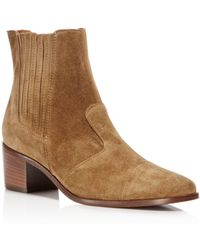 Charles David - Holland Suede Booties - Lyst