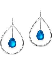 Ippolita - Sterling Silver Rock Candy® Wonderland Large Pear Shape Drop Earrings In Ultramarine - Lyst