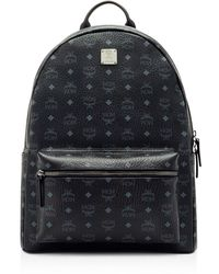 MCM - Visetos Large Stark Backpack - Lyst