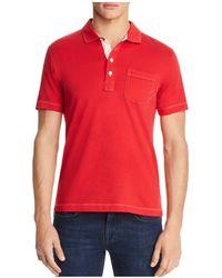 Billy Reid - Pensacola Slim Fit Polo Shirt - Lyst