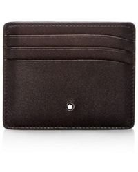 Montblanc - Meisterstück Sfumato Leather Card Case - Lyst