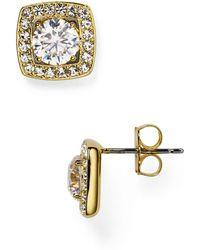 Nadri - Swarovski Crystal Stud Earrings - Lyst