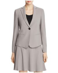Armani | Single-button Stretch-wool Blazer | Lyst