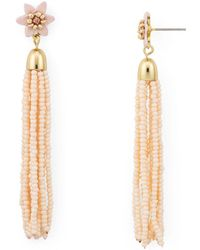 Rebecca Minkoff - Calla Tassel Drop Earrings - Lyst