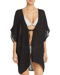 Echo - Open - Front Caftan Swim Cover - Up - Lyst