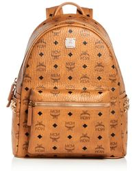 MCM - Visetos Small/medium Stark Studded Backpack - Lyst