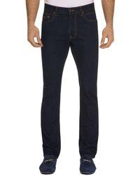 Robert Graham - Salter Straight Fit Indigo Jeans - Lyst