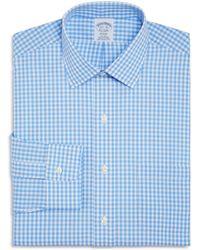 Brooks Brothers - Gingham Check Regular Fit Dress Shirt - Lyst