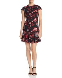 Aidan By Aidan Mattox - Embroidered Cocktail Dress - Lyst