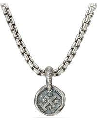 David Yurman - Shipwreck Coin Amulet - Lyst