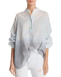 Elizabeth and James - Flint Oversize Ombré Shirt - Lyst
