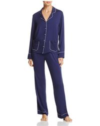 Splendid - Intimates Piped Pajama Set - Lyst