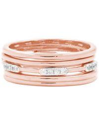 Freida Rothman - Radiance 5 Stack Ring - Lyst