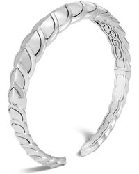 John Hardy - Sterling Silver Legends Naga Small Kick Cuff - Lyst