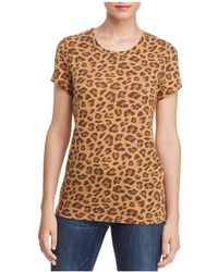 Alternative Apparel - Ideal Leopard Print Tee - Lyst