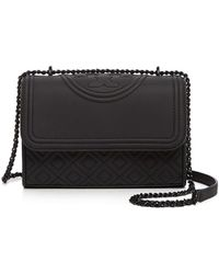 Tory Burch - Fleming Convertible Matte Shoulder Bag - Lyst