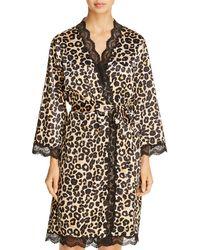 Dita Von Teese - Starlift Satin Kimono Robe - Lyst