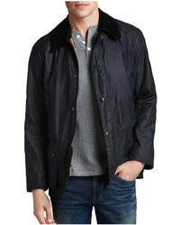 Barbour | Ashby Tailored Waxed Cotton Coat | Lyst