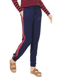 MICHAEL Michael Kors - Contrast Stripe Jogger Pants - Lyst