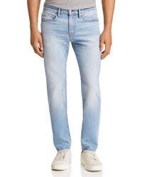 FRAME - L'homme Skinny Fit Jeans In Midpines - Lyst