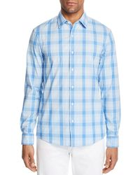 Michael Kors - Plaid Trim Fit Shirt - Lyst