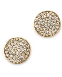Ippolita - 18k Gold Stardust Studs With Diamonds - Lyst