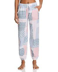 Jane & Bleecker New York - Printed Pj Pants - Lyst