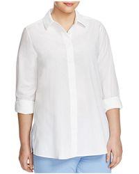 Marina Rinaldi - Plus Bagatto Button-down Shirt - Lyst