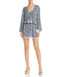 Cool Change - Saline Tunic Swim Cover-up - Lyst