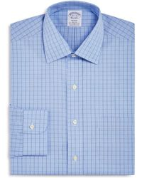 Brooks Brothers - Houndstooth Grid Classic Fit Dress Shirt - Lyst