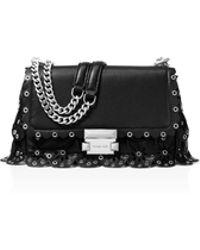 MICHAEL Michael Kors - Michael Kors Sloan Small Leather Chain Shoulder Bag - Lyst