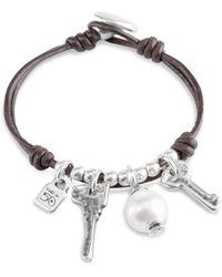 Uno De 50 - Ojito Toggle Bracelet - Lyst