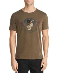 John Varvatos - Crew Neck T-shirt - Lyst
