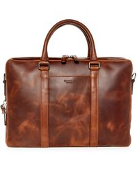 Shinola - Navigator Leather Computer Briefcase - Lyst