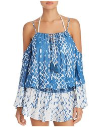 Surf Gypsy - Cold Shoulder Dress Swim Cover-up - Lyst